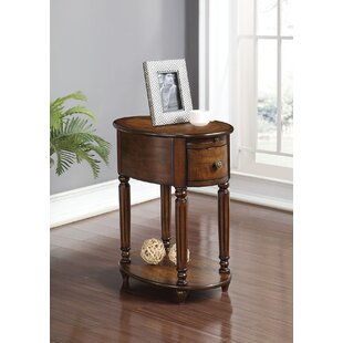 Rosen End Table with Storage