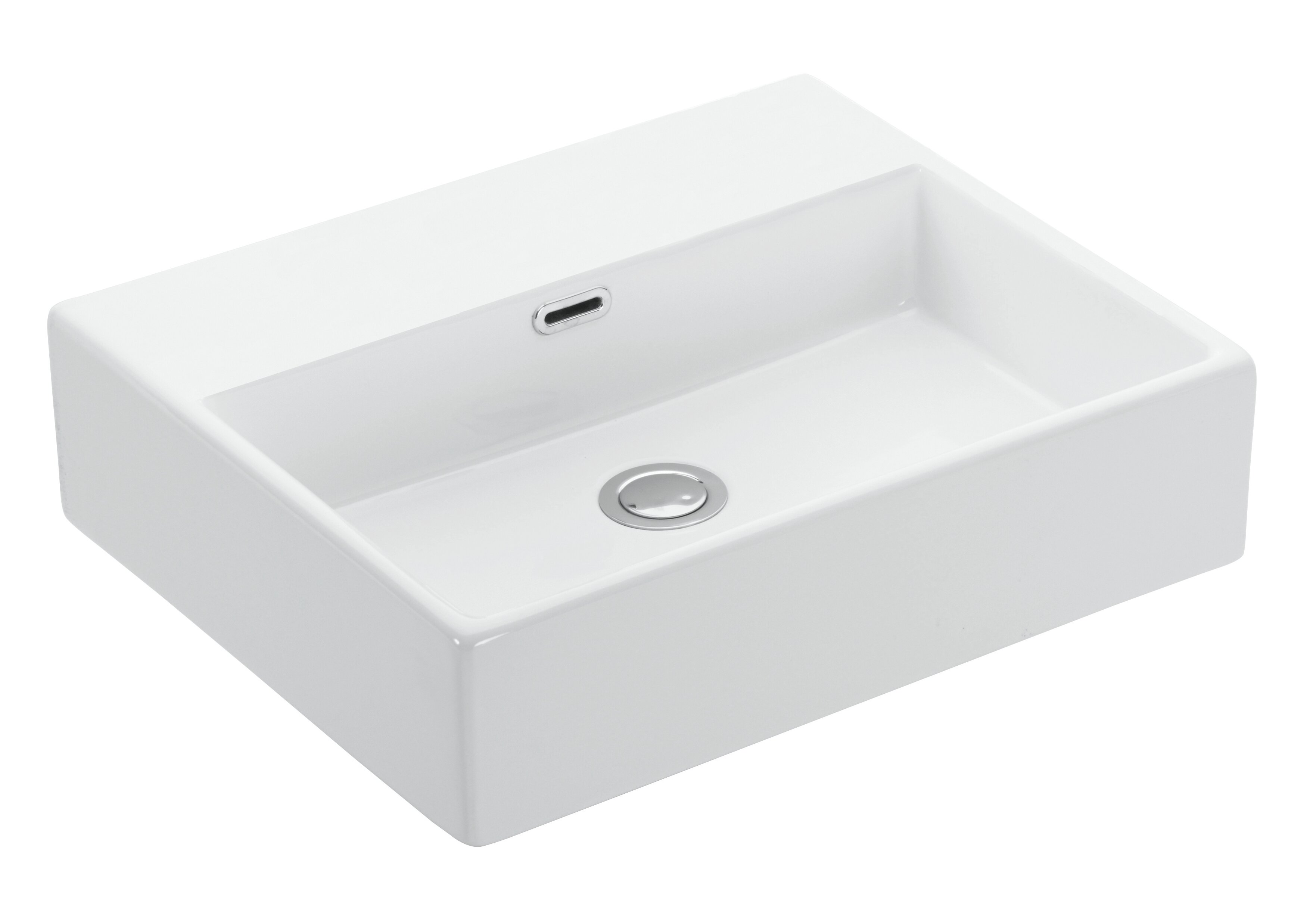 With Overflow Ws Bath Collections Vessel Sinks You Ll Love In 2021 Wayfair