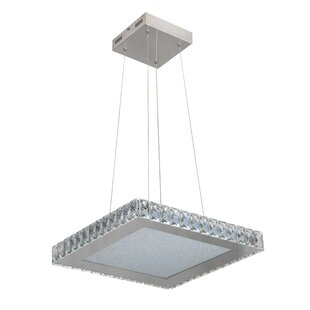 House of Hampton Mizell 1-Light LED Geometric Pendant