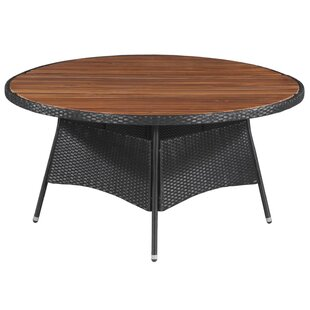 Cameron Rattan Dining Table By Sol 72 Outdoor