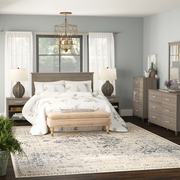 Valencia Platform 4 Piece Bedroom Set