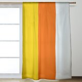 Orange Striped Curtains Drapes You Ll Love In 2021 Wayfair