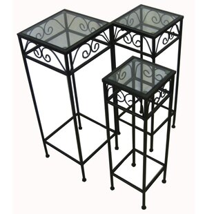 3 Piece Nesting Tables by Pangaea Home and Garden