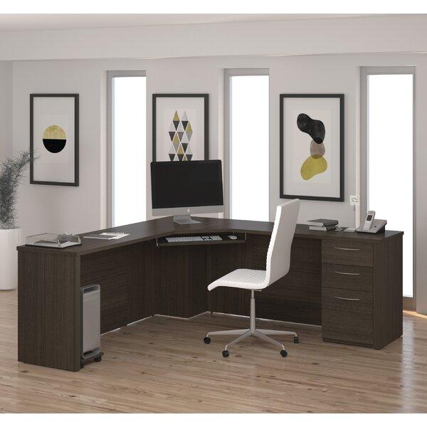 Zipcode Design Lexington L Shape Desk With Hutch U0026 Reviews   Wayfair