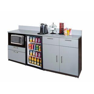 Coffee Kitchen Lunch Break Room 36 x 84 Base Cabinet by Breaktime