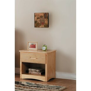 Red Barrel Studio Holtzclaw Wooden Night Stand
