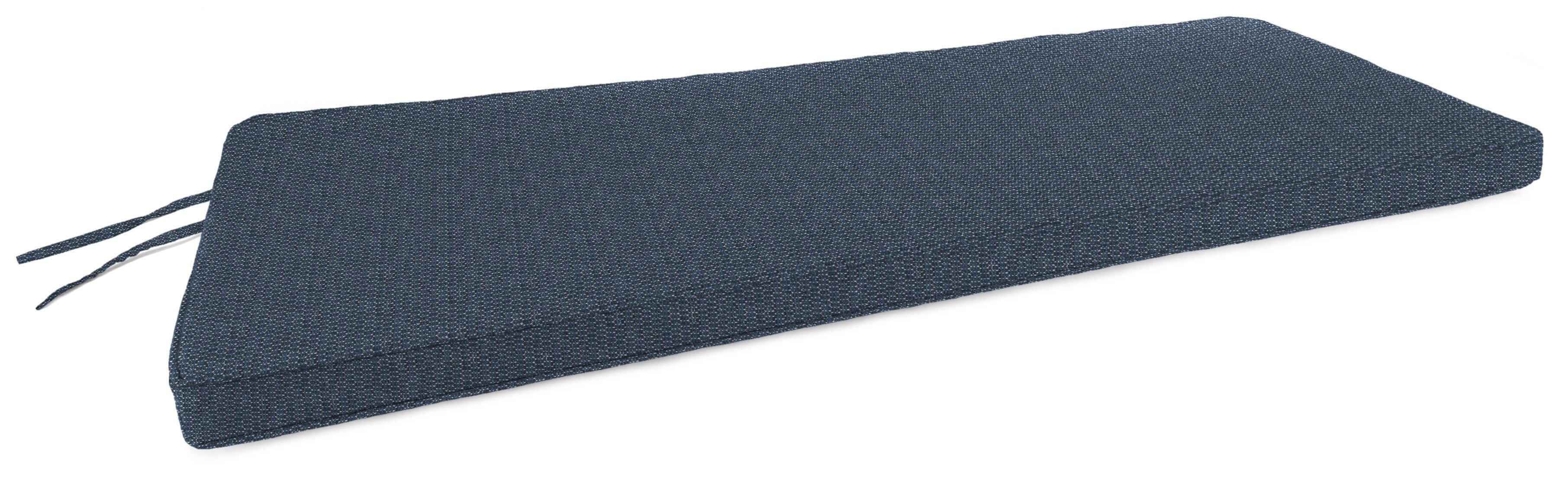 Ivy Bronx Boxed Edge Indoor Outdoor Bench Cushion Wayfair