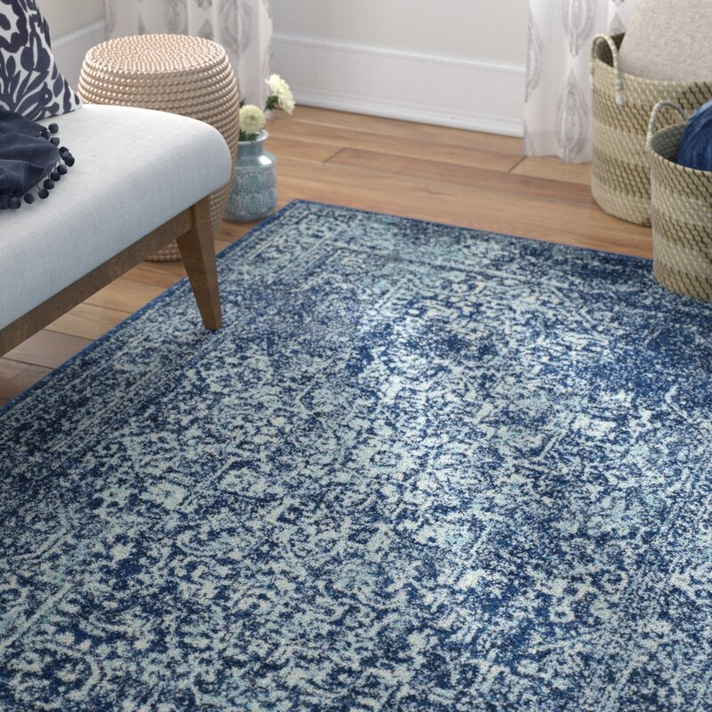 Elson Navy Area Rug