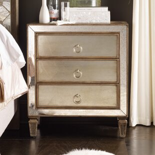 Read Reviews Sanctuary 3 Drawer Nightstand by Hooker Furniture