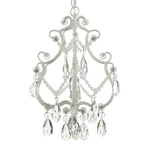 Alyson 1-Light Crystal Pendant by Viv + Rae