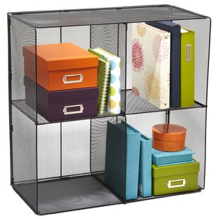 Cube Bookcase by Rebrilliant