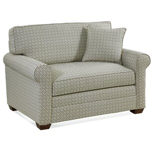 Bedford Sleeper Loveseat with Airdream Mattress by Braxton Culler