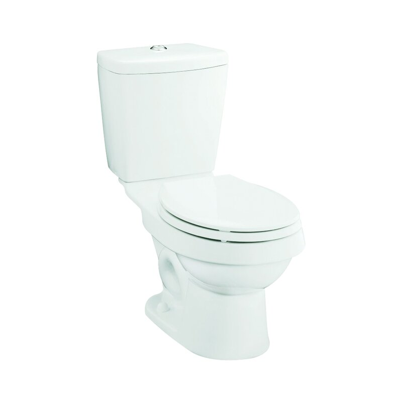 Karsten Dual Flush Elongated 2 Piece Toilet