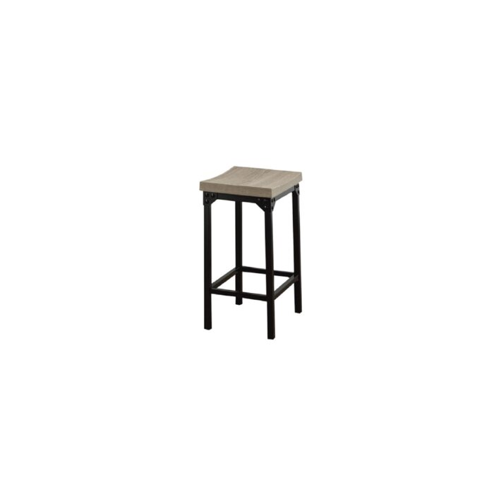 Marvelous Osorio Reclaimed Wood Look Bar Stool Pdpeps Interior Chair Design Pdpepsorg