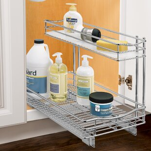 Lynk® Professional® Slide Out Under Sink Cabinet Organizer Pull Out Drawer