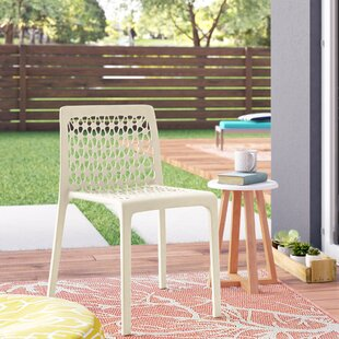 Grayson Stacking Patio Dining Chair (Set of 2)