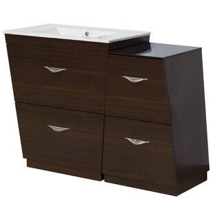 Dudelange 41 Single Bathroom Vanity Set By Royal Purple Bath Kitchen