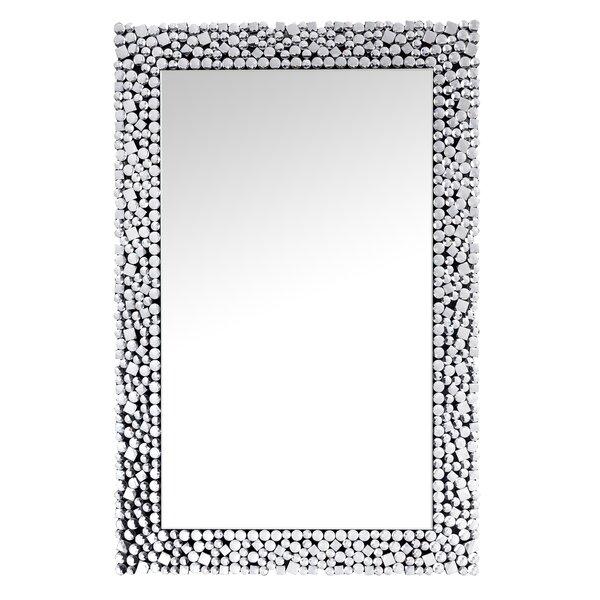 Everly Quinn Hullinger Sparkling Glam Beveled Full Length Mirror Wayfair
