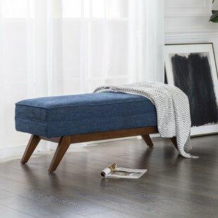 Garman Upholstered Bench by George Oliver