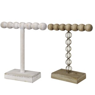 Read Reviews 2 Piece 1-Tier Jewelry Stand Set By Grovelane Teen