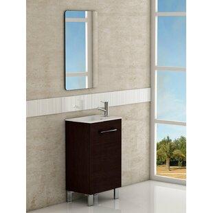 Edgar 20 Modern Bathroom Vanity by Orren Ellis
