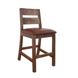 Delphine 24 Bar Stool (Set of 2) Gracie Oaks