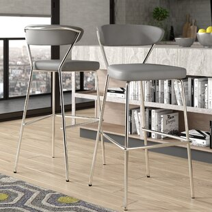 Viviana 30 Bar Stool (Set of 2) Wade Logan