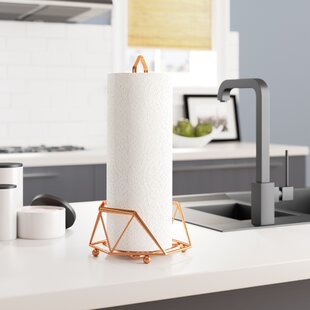 Geometric Paper Towel Holder