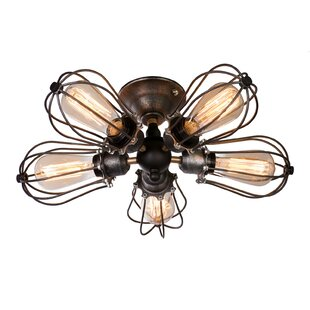 Lighting World 5-Light Semi Flush Mount