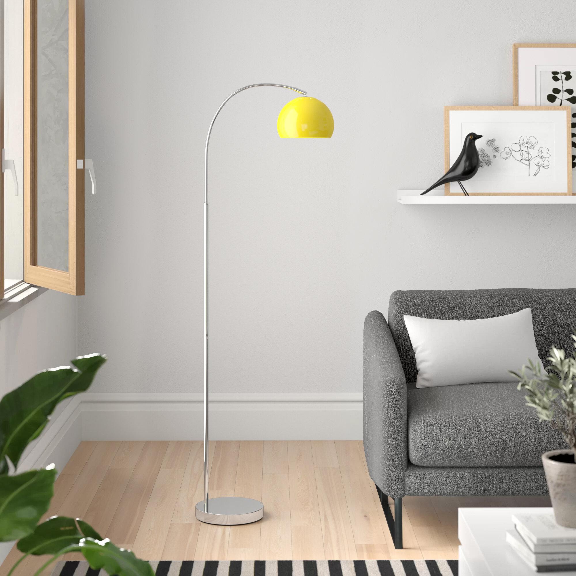 Kim 150cm Arched Floor Lamp