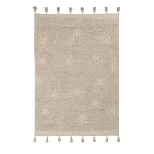 Flatweave Cotton Natural Rug By Lorena Canals