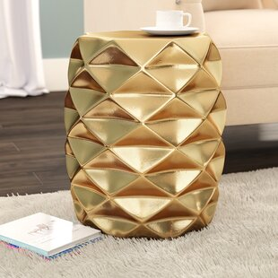 Shop For Adler Geometric Garden Stool By Trule Teen