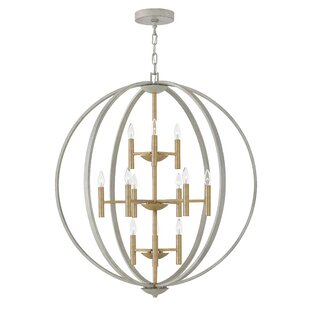 Willa Arlo Interiors Kieran 12 Light Globe Chandelier