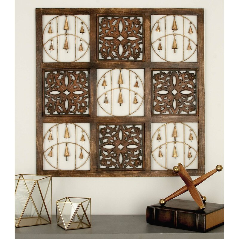 Metal And Wood Panel Wall Décor Reviews Birch Lane