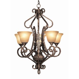 Astoria Grand Watlington 5-Light Shaded Chandelier