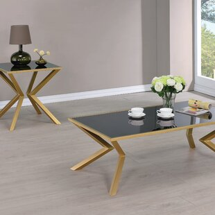 Dylan 2 Piece Coffee Table Set by Willa Arlo Interiors
