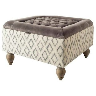 Orleans Storage Ottoman by Bungalow Rose