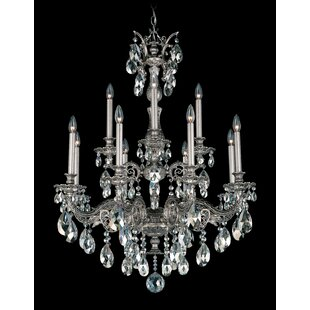 Schonbek Milano 12-Light Chandelier