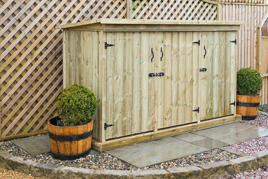 Garden Sheds 3 X 6 bike storage shed. suncast cascade 7 ft 5 in w x 3 ft 11 in d