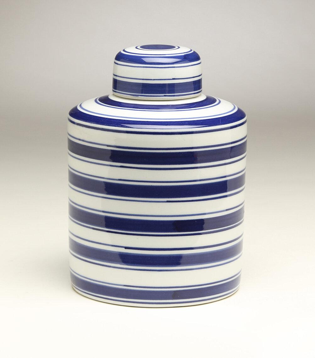 Striped Charlton Home Vases Urns Jars Bottles You Ll Love In 2021 Wayfair