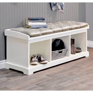 Great choice Between Wood Storage Entryway Bench ByCharlton Home