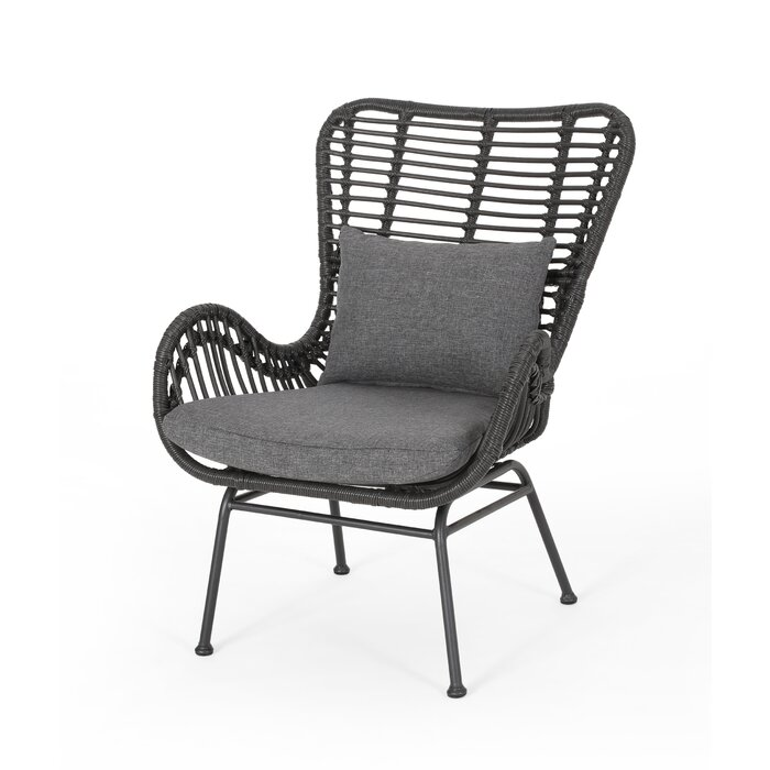 Tarnowski Indoor Wicker Club Chair
