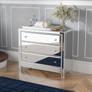 Mariaella 3 Drawers Accent Chest by Rosdorf Park