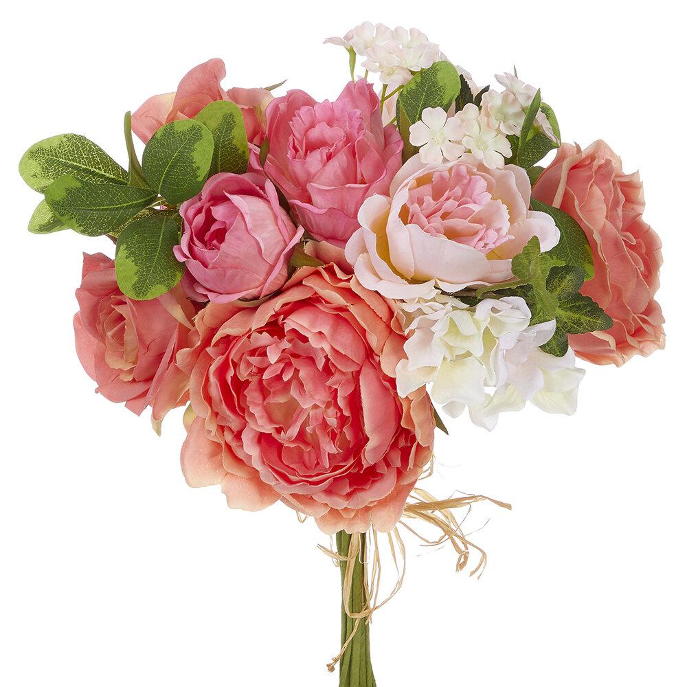 August Grove Floral Bundle Mixed Stem Wayfair