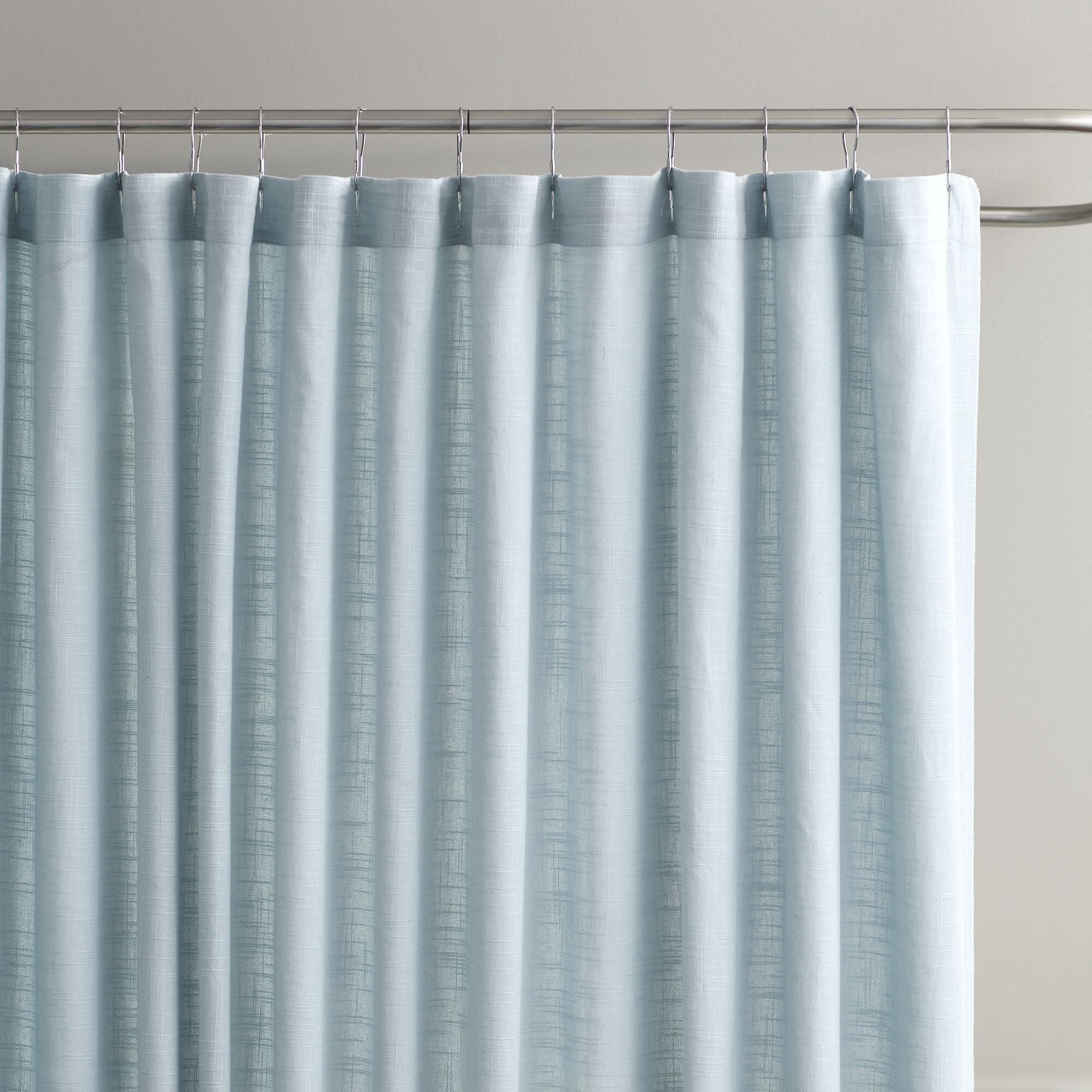 Birch Lane™ Amanda Cotton Shower Curtain & Reviews | Birch Lane