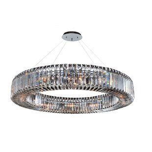 Richwood 12-Light Crystal Chandelier by Everly Quinn
