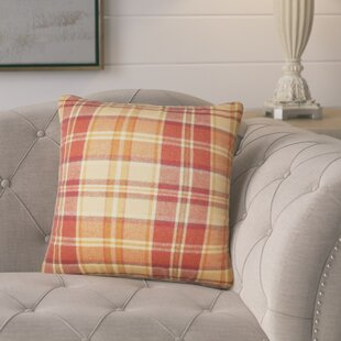 Alistair Plaid Throw Pillow (Set Of 2) by Grovelane Teen Reviews