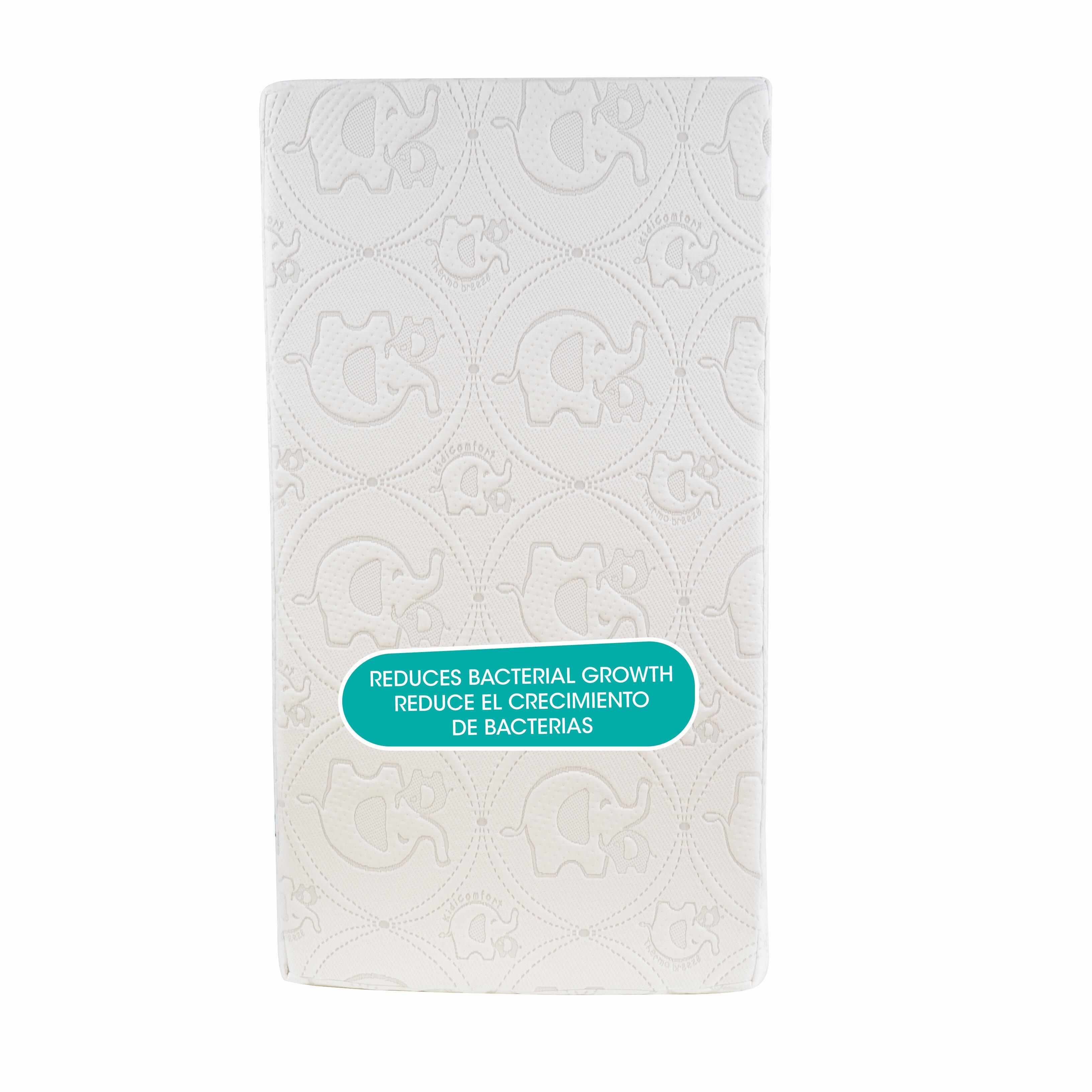 Kidicomfort Soft Breeze Temperature Regulating Crib Mattress Pad