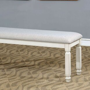 Gage Upholstered Dining Bench by Rosecliff Heights