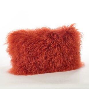 Blankenship Rectangular Wool Lumbar Pillow